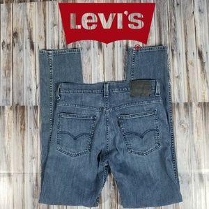 Levi's 508 Regular Taper Fit Blue Gray Black R Tab